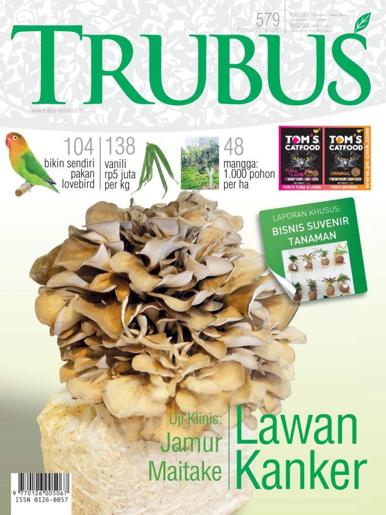 Majalah Digital TRUBUS Februari 2018