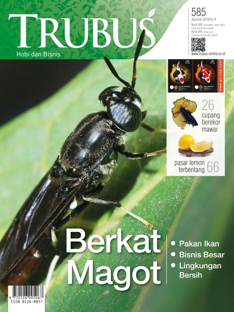 Majalah Digital TRUBUS Agustus 2018