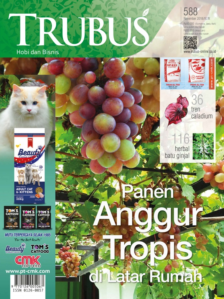 Majalah Digital TRUBUS November 2018