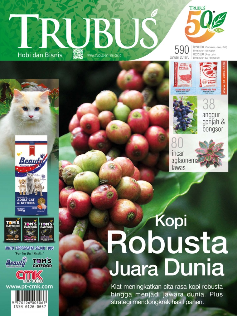 Majalah Digital TRUBUS Januari 2019