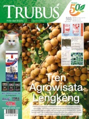 Cover Majalah TRUBUS April 2019