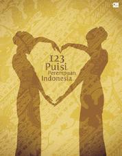 Cover 123 Puisi Perempuan Indonesia oleh