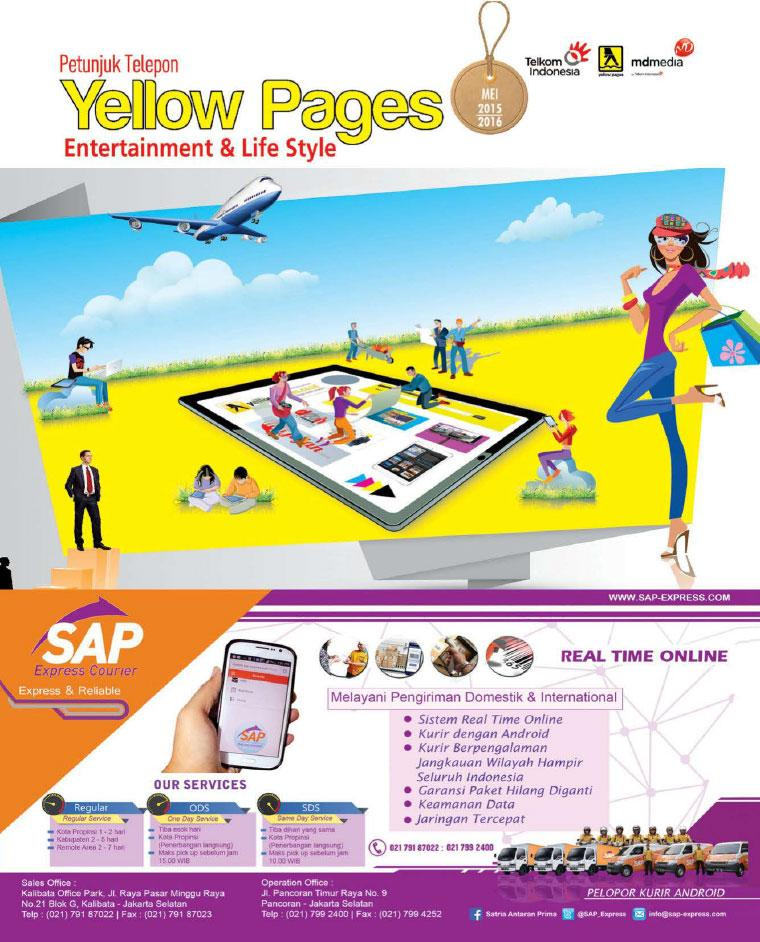 Majalah Digital Yellow Pages Jakarta Entertaiment & Life Style 2015–2016