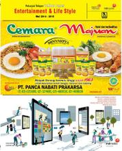Cover Majalah Yellow Pages Jakarta Entertaiment & Life Style 2014–2015