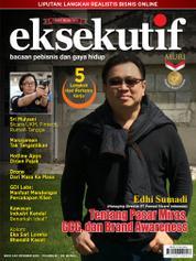Cover Majalah eksekutif Oktober 2016