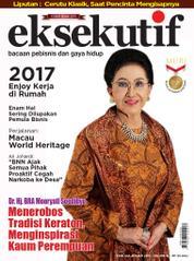 Cover Majalah eksekutif Januari 2017