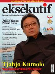 Cover Majalah eksekutif Februari 2017