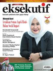 Cover Majalah eksekutif Maret 2017
