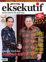 Cover Majalah eksekutif April 2017