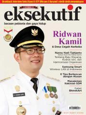 Cover Majalah eksekutif Mei 2017