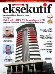 Cover Majalah eksekutif Agustus 2017