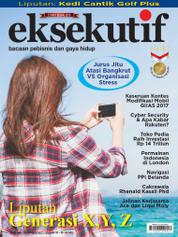 Cover Majalah eksekutif September 2017