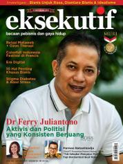 Cover Majalah eksekutif Oktober 2017