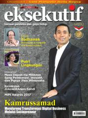Cover Majalah eksekutif November 2017