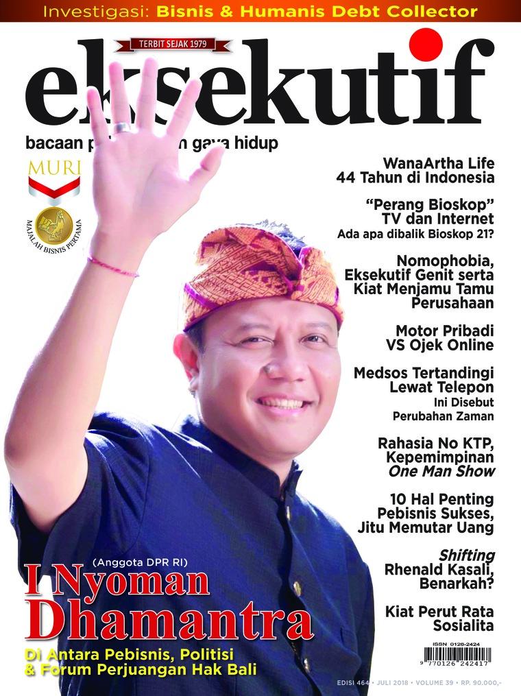 Majalah Digital eksekutif Juli 2018
