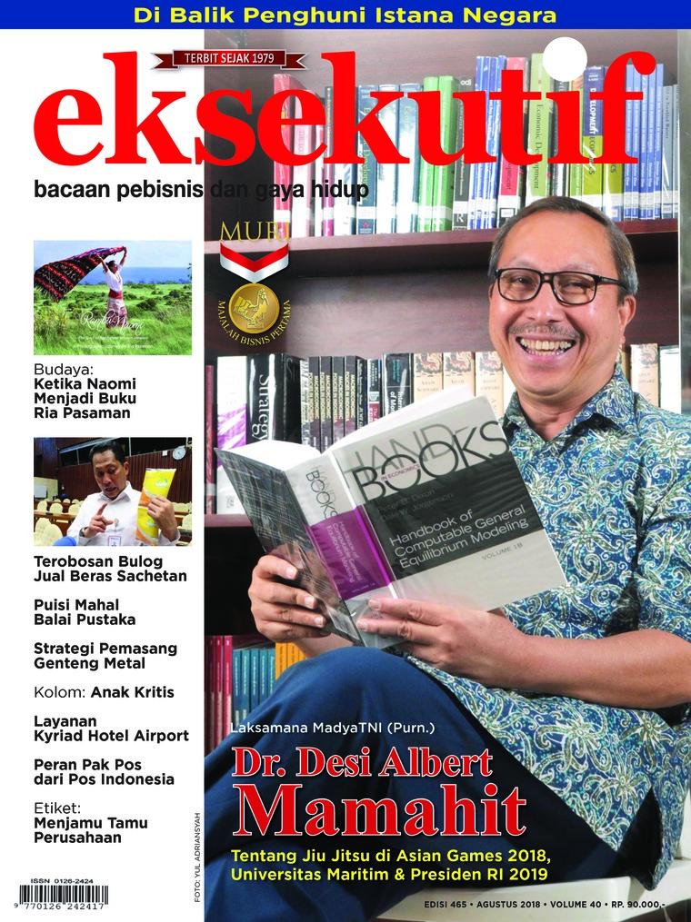 Majalah Digital eksekutif Agustus 2018
