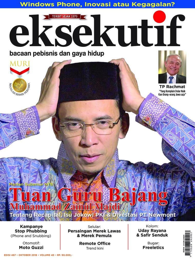 Majalah Digital eksekutif Oktober 2018