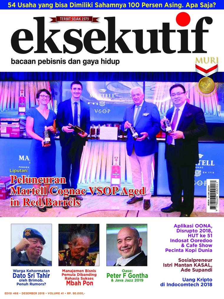 Majalah Digital eksekutif Desember 2018