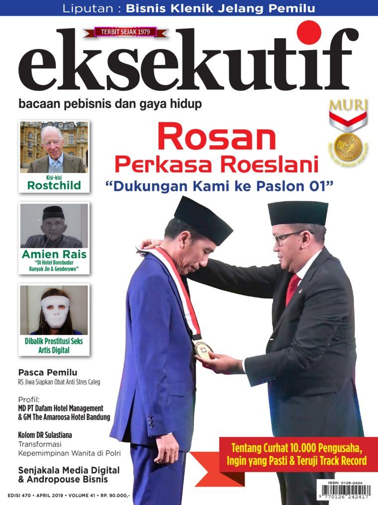 Majalah Digital eksekutif April 2019