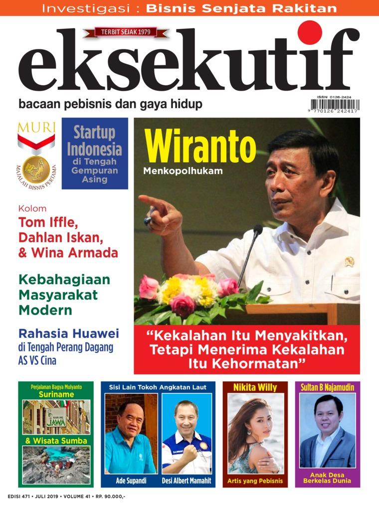 Majalah Digital eksekutif Juli 2019