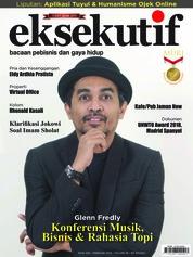 Cover Majalah eksekutif Februari 2018
