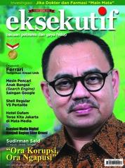 Cover Majalah eksekutif Maret 2018