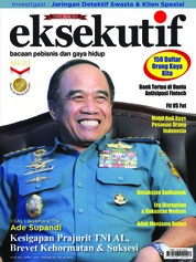 Cover Majalah eksekutif April 2018