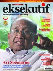 Cover Majalah eksekutif Mei 2018