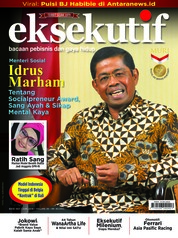 Eksekutif Magazine Cover June 2018