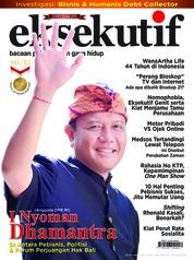 Cover Majalah eksekutif Juli 2018