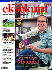 Eksekutif Magazine Cover August 2018