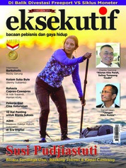 Cover Majalah eksekutif September 2018