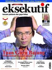 Cover Majalah eksekutif Oktober 2018