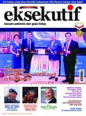 Eksekutif Magazine Cover December 2018