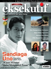 Eksekutif Magazine Cover February 2019