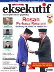 Cover Majalah eksekutif April 2019