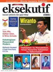 Cover Majalah eksekutif Juli 2019
