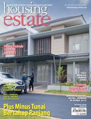 Cover Majalah housing estate Agustus 2016