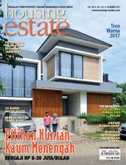 Cover Majalah housing estate Desember 2016