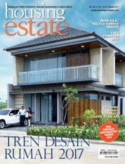 Cover Majalah housing estate Januari 2017