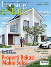 Cover Majalah housing estate Februari 2017