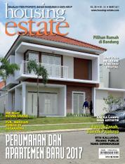 Cover Majalah housing estate Maret 2017