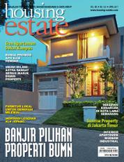 Cover Majalah housing estate April 2017