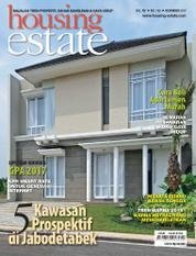 Cover Majalah housing estate November 2017