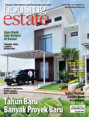 Cover Majalah housing estate Desember 2017