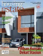 Cover Majalah housing estate Januari 2018