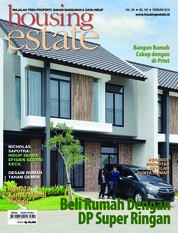 Cover Majalah housing estate Februari 2018
