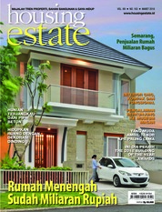 Cover Majalah housing estate Maret 2018