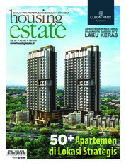 Cover Majalah housing estate Mei 2018
