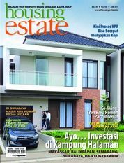 Cover Majalah housing estate Juni 2018